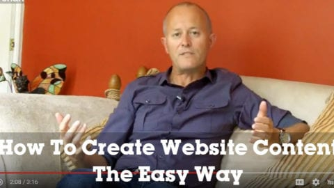 How To Create Website Content The Easy Way