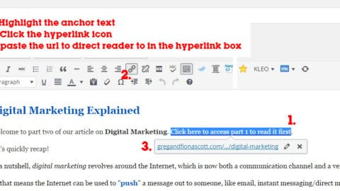 How To Add a Hyperlink