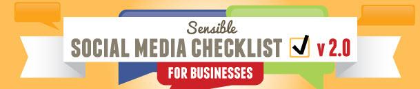 social media checklist 2.0