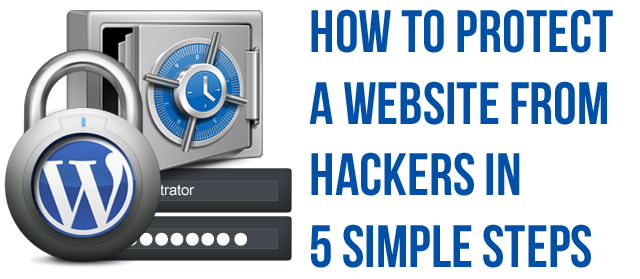 how to protect a website from hackers