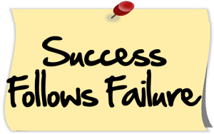 Success Follows Failure