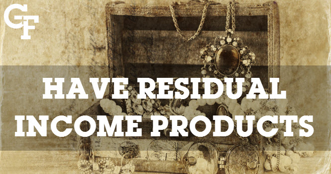 residual income products