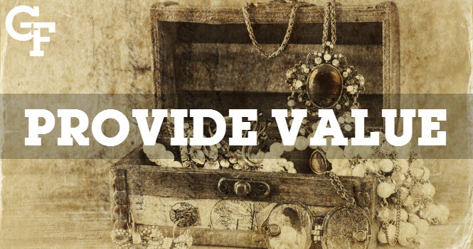 how to provide value