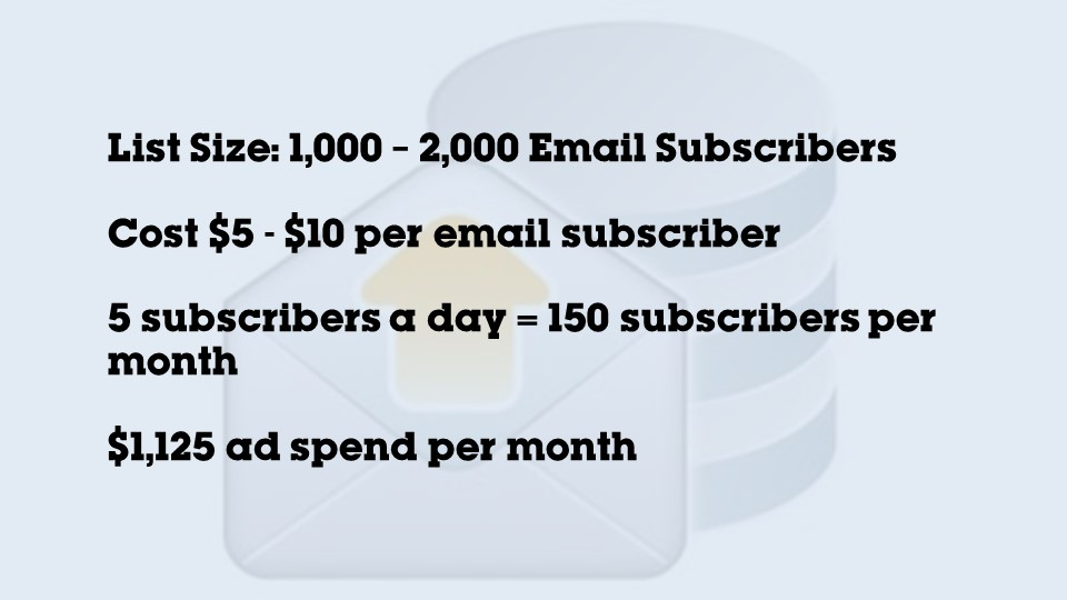 email list building example