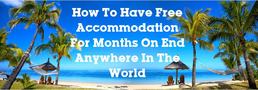 free accomodation